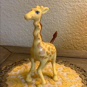 Giraffe 🦒 figurine toy hard plastic cake topper